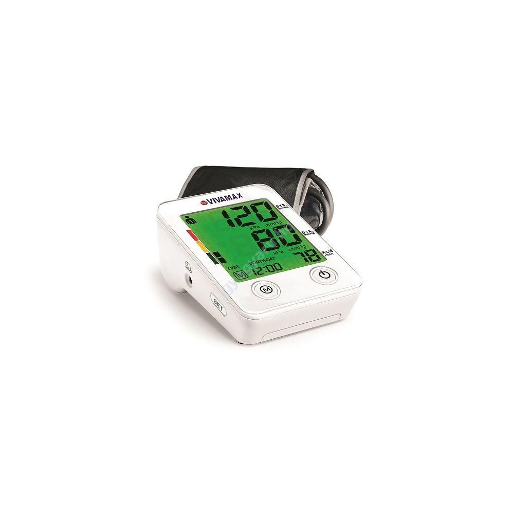Színes kijelzős felkaros vérnyomásmérő Vivamax GYV9