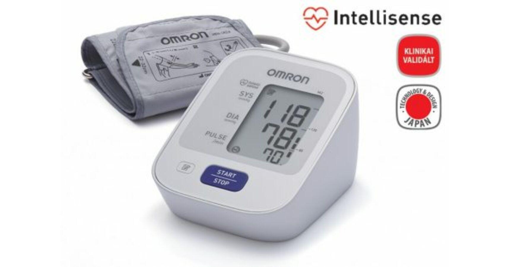 OMRON M2 Intellisense felkaros vérnyomásmérő 3 év garanciával