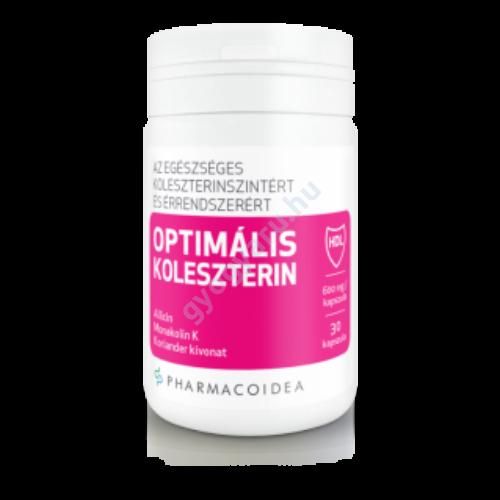 OPTIMÁLIS KOLESZTERIN kapszula - Pharmacoidea